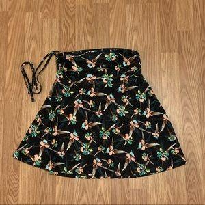 Patagonia floral Litha skirt size M